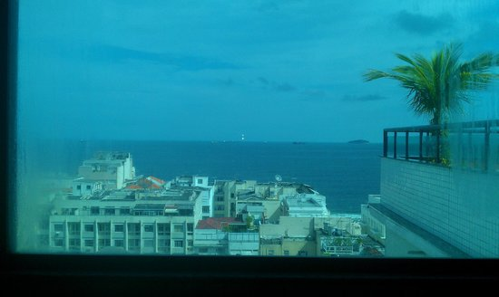 Mirasol Copacabana Hotel:                   View from the Sauna