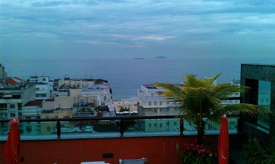 Mirasol Copacabana Hotel:                   Roof view 1/16/13