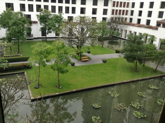 The Sukhothai Bangkok:                   View from my room