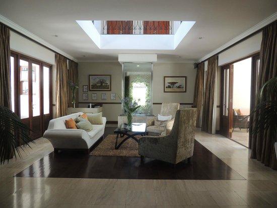 Nova Constantia Boutique Residence:                   entry / lobby