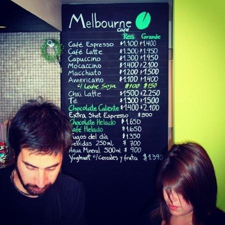 Melbourne Cafe: ellos fueron lo q me atendieron