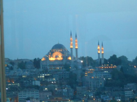 Anemon Galata:                   View from the restaurant