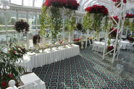 The Madison Hotel: jardin de invierno del hotel acondicionado para fiestas