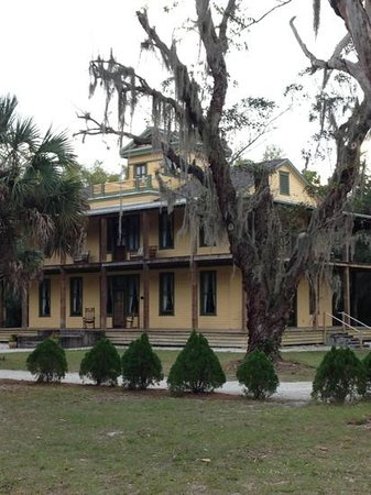 Koreshan State Historic Site:                                     the historic section