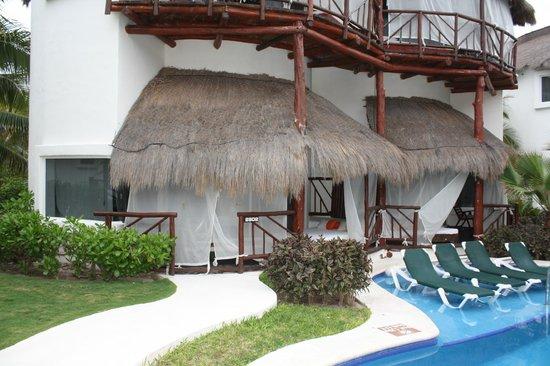 El Dorado Casitas Royale, by Karisma:                   Our room                 