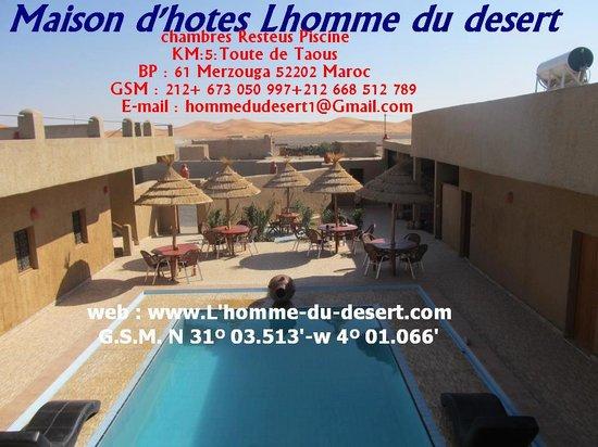 L'Homme Du Desert: Lhomme du Desert Luxury hotel