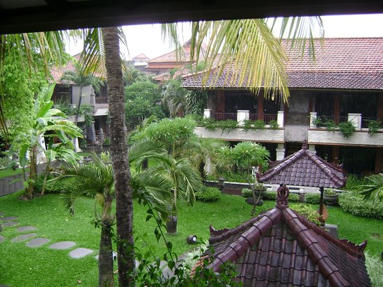 Kuta Beach Club Hotel:                   View From Room