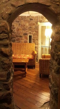 Ste. Anne's Spa: Doll House sitting room