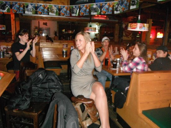 Texas Roadhouse: birthday girl