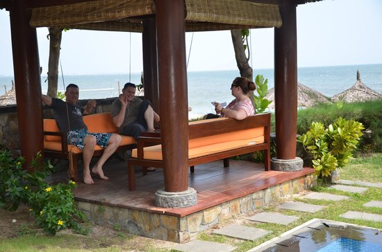 Blue Ocean Resort:                   Relaxing after arrival