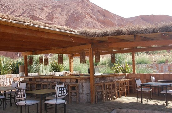 Alto Atacama Desert Lodge & Spa: Bar exterior