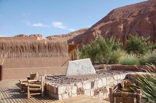 Alto Atacama Desert Lodge & Spa: Pequeña plaza