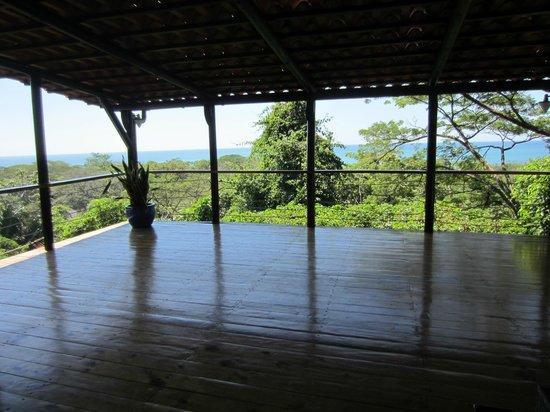 Casa MarBella: yoga deck