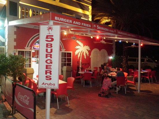 Fast Food Restaurants In Oranjestad Aruba