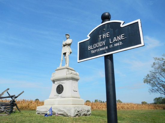 Antietam National Battlefield: The Bloody Lane