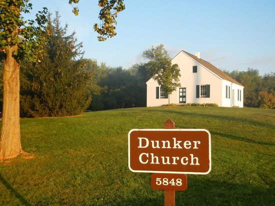 Antietam National Battlefield: Dunker Church