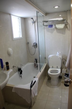 Armon Hayarkon: Vista del baño