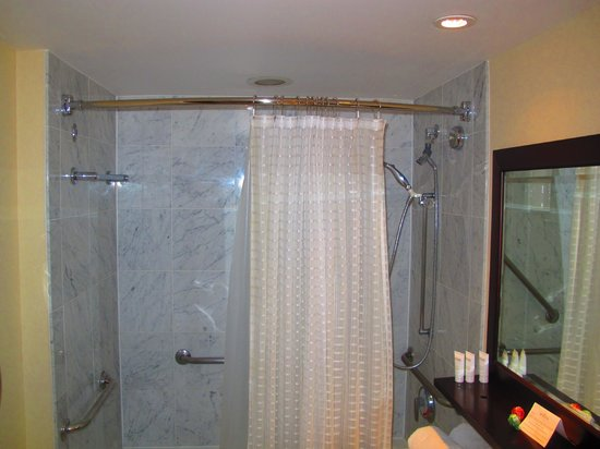 Westminster Hotel: Shower in Bedroom