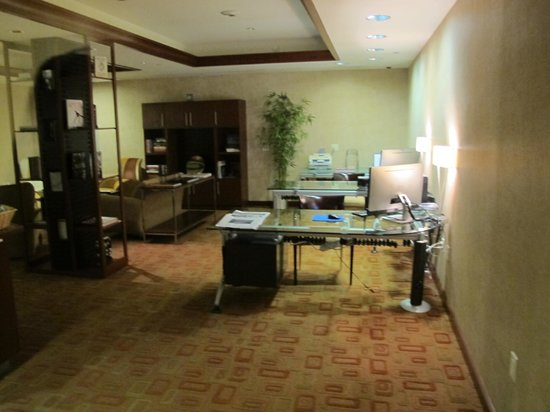 Westminster Hotel: Concierge Lounge/Business Center