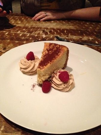 The Lazy Goat:                   cheese cake