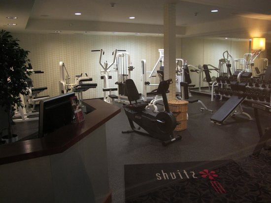 Westminster Hotel: Fitness Center at Weestminster