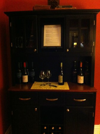 The Chadwick Bed & Breakfast:                   A wine bar