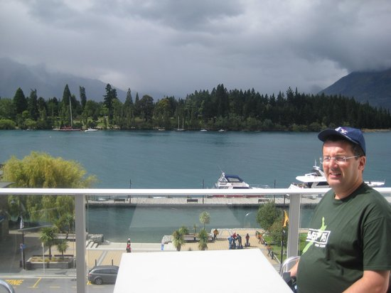 Crowne Plaza Queenstown:                   Balcony view