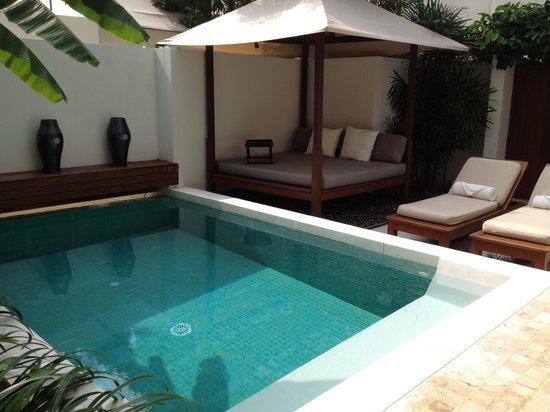 SALA Samui Choengmon Beach Resort:                   OUR pool