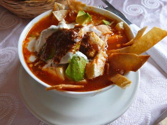 El Escapulario : Sopa de tortilla