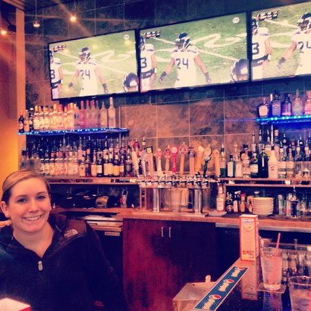 Bob's Burgers & Brew: Watch your favorite teams while drinking your favorite beverage at our bar!