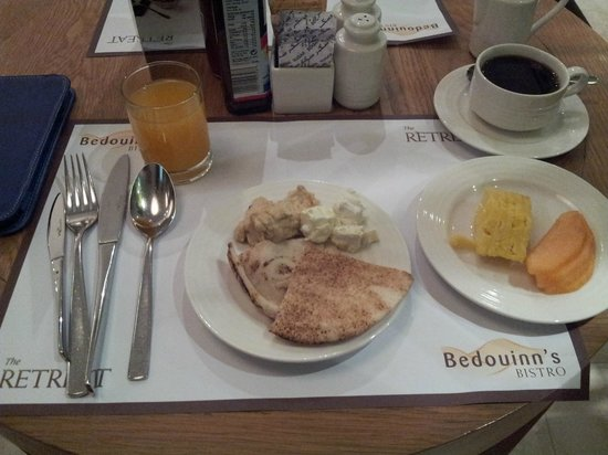 Premier Inn Dubai International Airport Hotel:                   A selection from the breakfast buffet