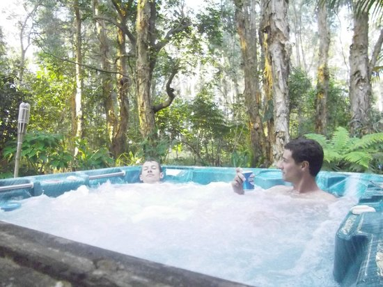 Wanderers Retreat:                   spa