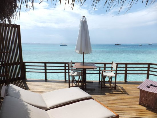 Baros Maldives: 朝