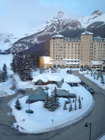 Fairmont Chateau Lake Louise:                   Gorgeous view from our room!