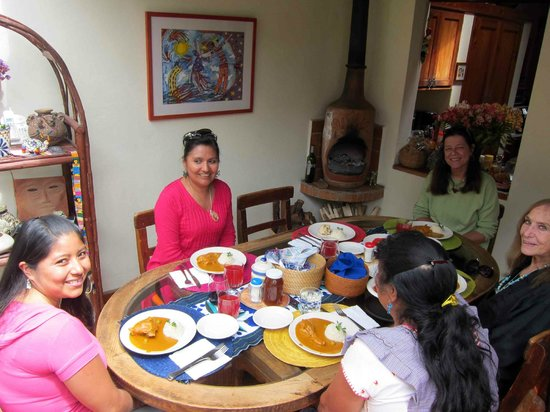 Bela's B&B: Nora the great cook visiting from Oaxaca