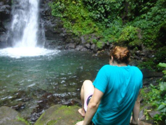 San Luis Waterfall:                   the pristine water!
