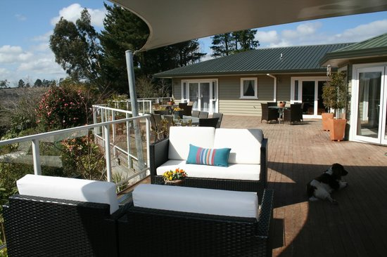 Kauri Point: Sunny North facing deck