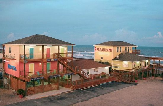 Seahorse Bar Grill View Of Ocean Village Hotel And Pirate S Alley Cafe