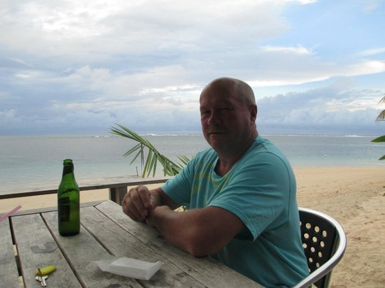 Savaii Lagoon Resort: beer o'clock