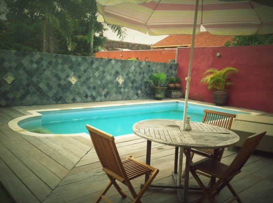 Villa Pondok Terra Yogyakarta :                   the silver villa pool