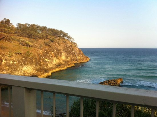 Whale Watch Ocean Beach Resort:                   View from Surf Club 300m from Resort