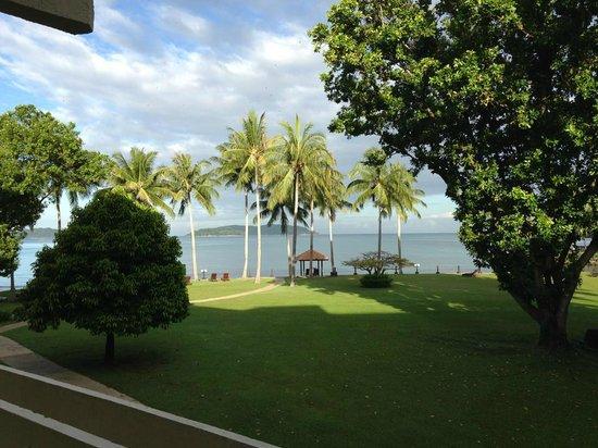 แชงกรีลาส์ ตันจุง อารู รีสอร์ท แอนด์ สปา:                   View of 2nd floor room of Tanjung wing