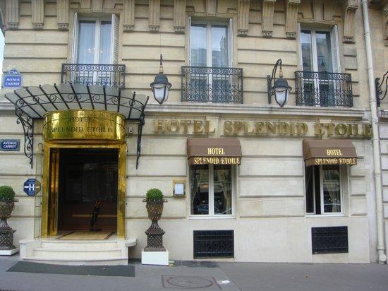 Splendid Etoile Hotel:                   Front of hotel
