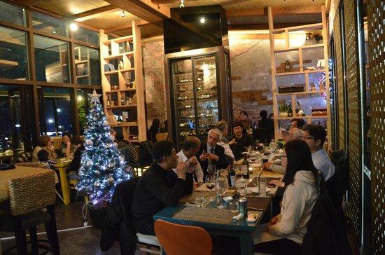 Locanda Rossi: Interior of the restaurant