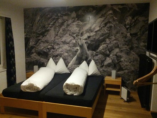 Hotel Raetia:                   The bed was nice