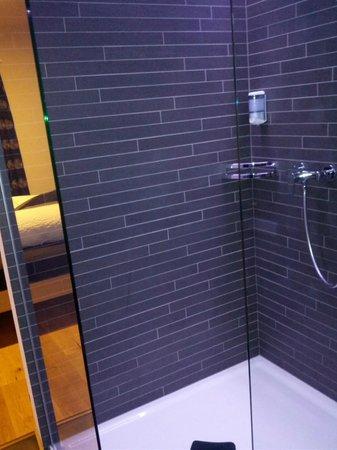 Hotel Raetia:                   shower
