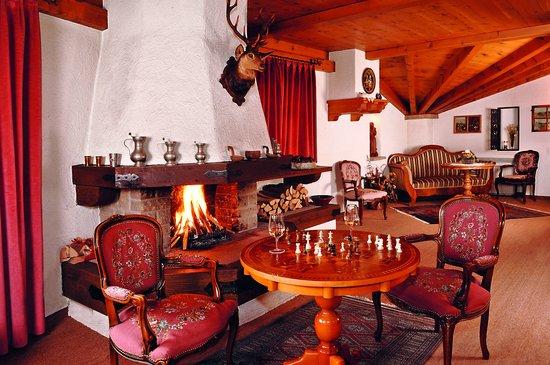 Hotel Gletschergarten: Kaminzimmer