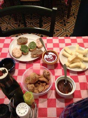 Antica Osteria Nandone: gli antipasti parte 2*