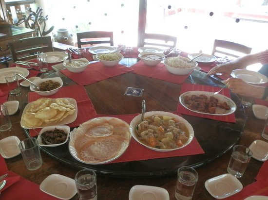 Philipkutty's Farm: Lunch Spread