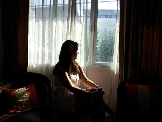 Vista Residence Bangkok:                   room window